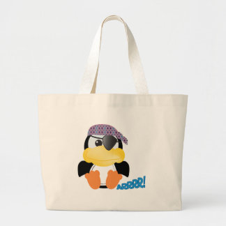 Cute Goofkins pirate penguin Tote Bag
