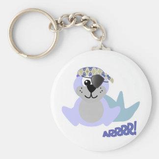 Cute Goofkins pirate seal Keychains