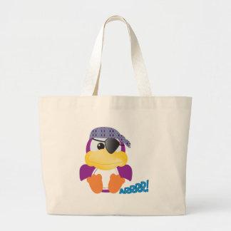 Cute Goofkins  purple pirate ducky Tote Bags