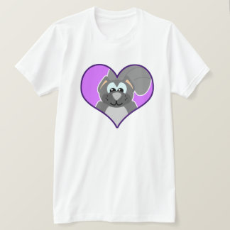 Cute Goofkins squirrel heart T-Shirt
