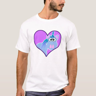 Cute Goofkins unicorn heart T-Shirt