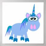 Cute Goofkins unicorn Poster