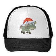 Cute Goofkins Xmas donkey santa Trucker Hat