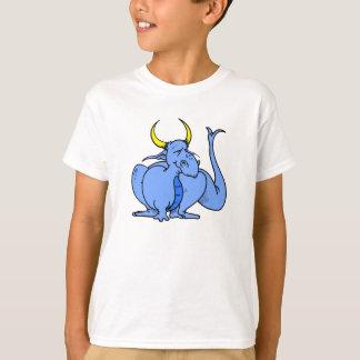 Cute Goofy Blue Dragon T-Shirt