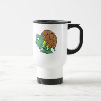 cute goofy cartoon turtle character coffee mugs