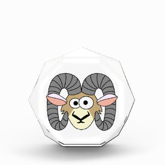 Cute Goofy Ram Sheep Award