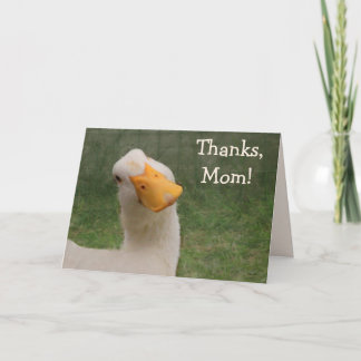 Cute Goose Mother's Day Card