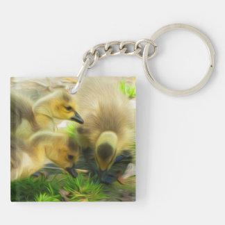 Cute Gosling Keychain