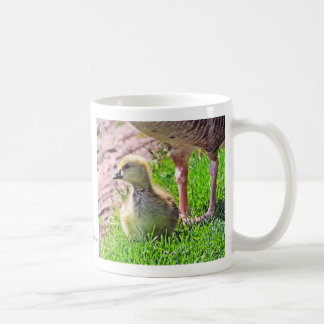 Cute Gosling with Mother Goose Coffee Mug