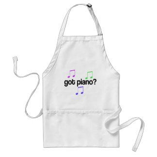 Cute Got Piano Music Gift Apron