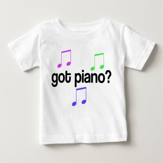 Cute Got Piano Music Gift Baby T-Shirt