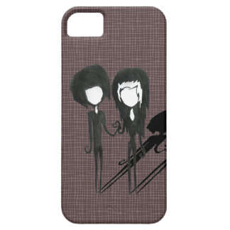Cute Goth Emo Couple Boy and Girl iPhone SE/5/5s Case