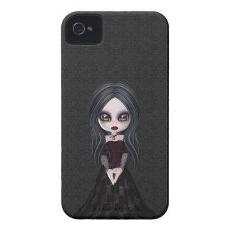 Cute Goth Girl iPhone 4 Case