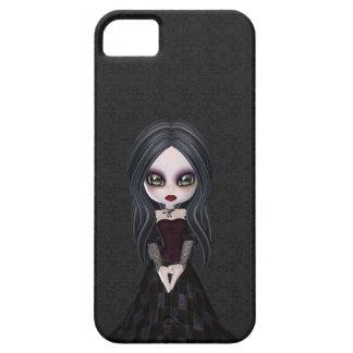Cute Goth Girl iPhone 5 Case