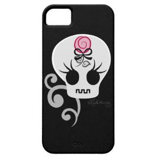 Cute Gothic Emo Skull iPhone 5 Cases