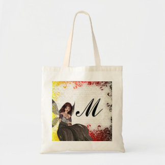 Cute Gothic fairy Tote Bags