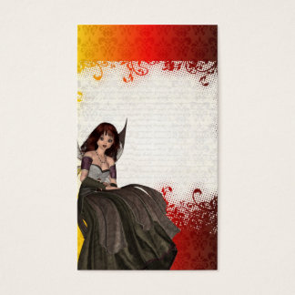 Cute Gothic fairy Business Card
