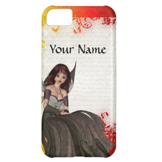 Cute Gothic fairy Cover For iPhone 5C