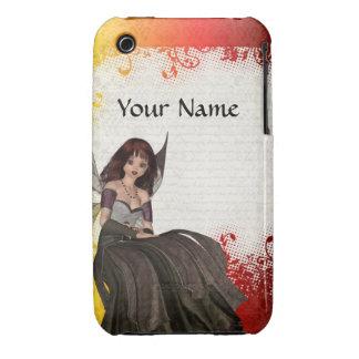 Cute Gothic fairy iPhone 3 Cover