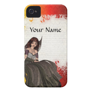 Cute Gothic fairy iPhone 4 Cover