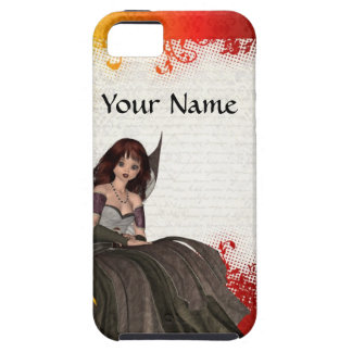 Cute Gothic fairy iPhone SE/5/5s Case