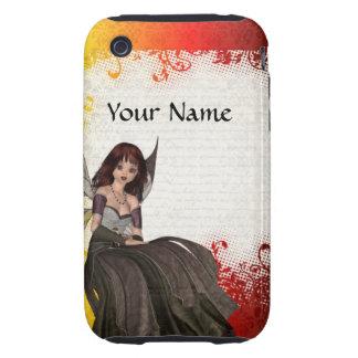 Cute Gothic fairy Tough iPhone 3 Case