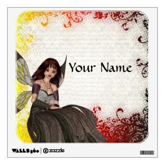 Cute Gothic fairy Wall Sticker