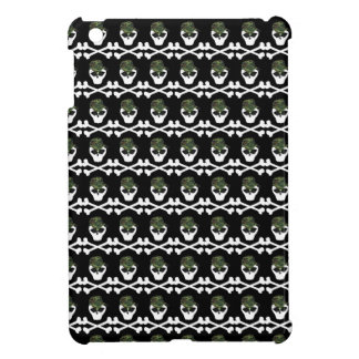 Cute Gothic Girly Skull and Crossbones Case For The iPad Mini