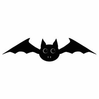 Cute gothic Halloween vampire bat with big eyes Photo Sculpture