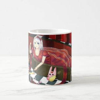 Cute gothic lolita puppet girl coffee mug