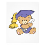 Cute Graduate Graduation Bear Personalized Invite