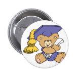 Cute Graduate Graduation Bear Pins