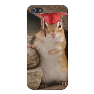 Cute Graduation Chipmunk iPhone SE/5/5s Cover