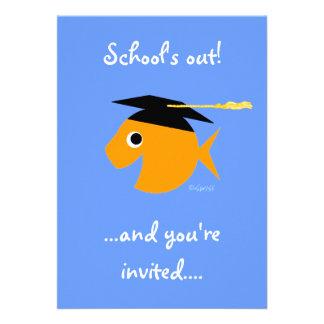 Cute Graduation Party Invitation