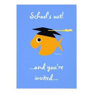 """Cute Graduation Party Invitation 5"""" X 7"""" Invitation Card"""