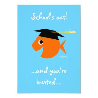 Cute Graduation Party Invitation Customizable
