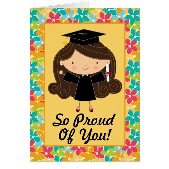 cute graduation personalized congratulations card