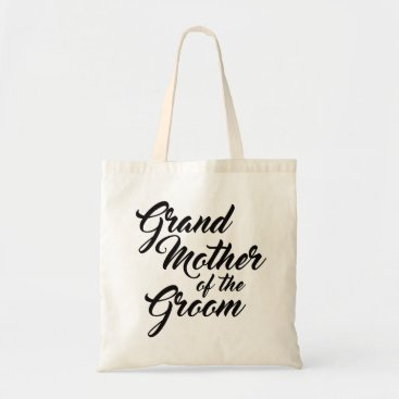 TheLittleWeddingShop Cute Grandmother of the Groom favour tote bag