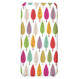 Cute graphic iphone case with tree pattern iPhone 5C covers