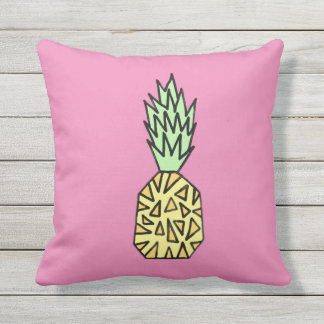 Cute Pillow Illustration : Pineapple Pillows - Decorative & Throw Pillows Zazzle