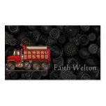 Cute Gravel Dump Truck Double-Sided Standard Business Cards (Pack Of 100)