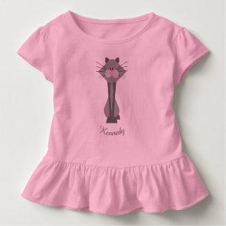 Cute Gray Cat Toddler T-shirt