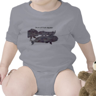 Cute Gray Whales Infant Apparel Shirt