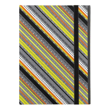 "Aztec Themed Cute gray yellow orange aztec patterns iPad pro 9.7"" case"