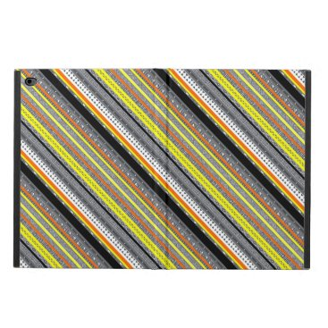 Aztec Themed Cute gray yellow orange aztec patterns powis iPad air 2 case