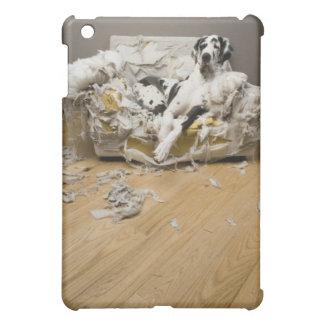 Cute Great Dane dog iPad case