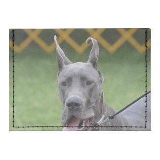 Cute Great Dane Tyvek® Card Case Wallet