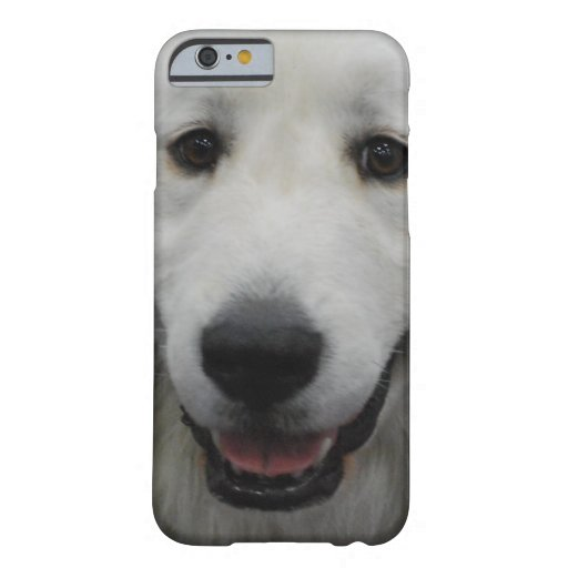 Cute Great White Pyrenees iPhone 6 Case