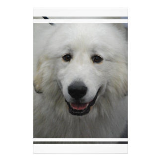 Cute Great White Pyrenees Stationery