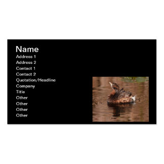 Cute Grebe Business Cards